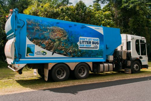 Cassowary Coast Regional Council promote key waste management messages and remind residents: Don't let your litter bug our reef
