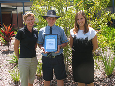 St Catherine's College were excited to be presented with a $500 Ripples of Change grant to help continue to implement Reef Guardian activities. They will be focusing on creating sustainable gardens and creating a wetland within the school.
