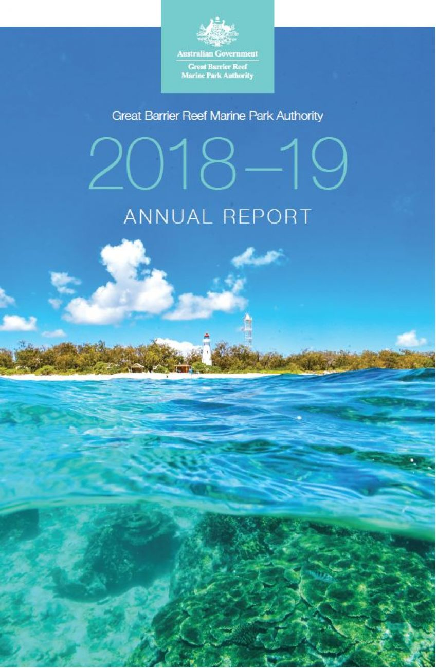 Great Barrier Reef Marine Park Authority 2018-19 Annual Report cover