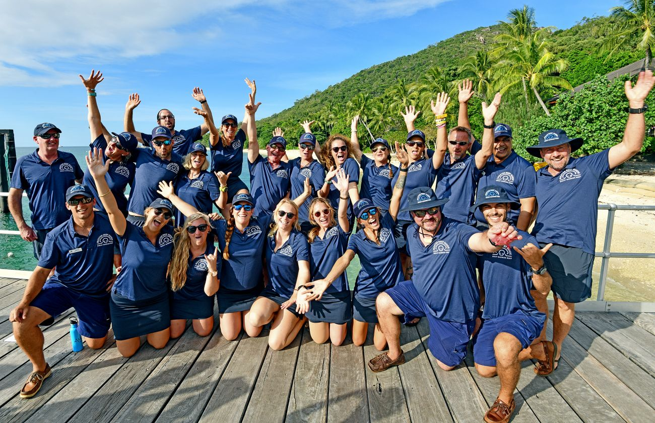 Master Reef Guides on Fitzroy Island