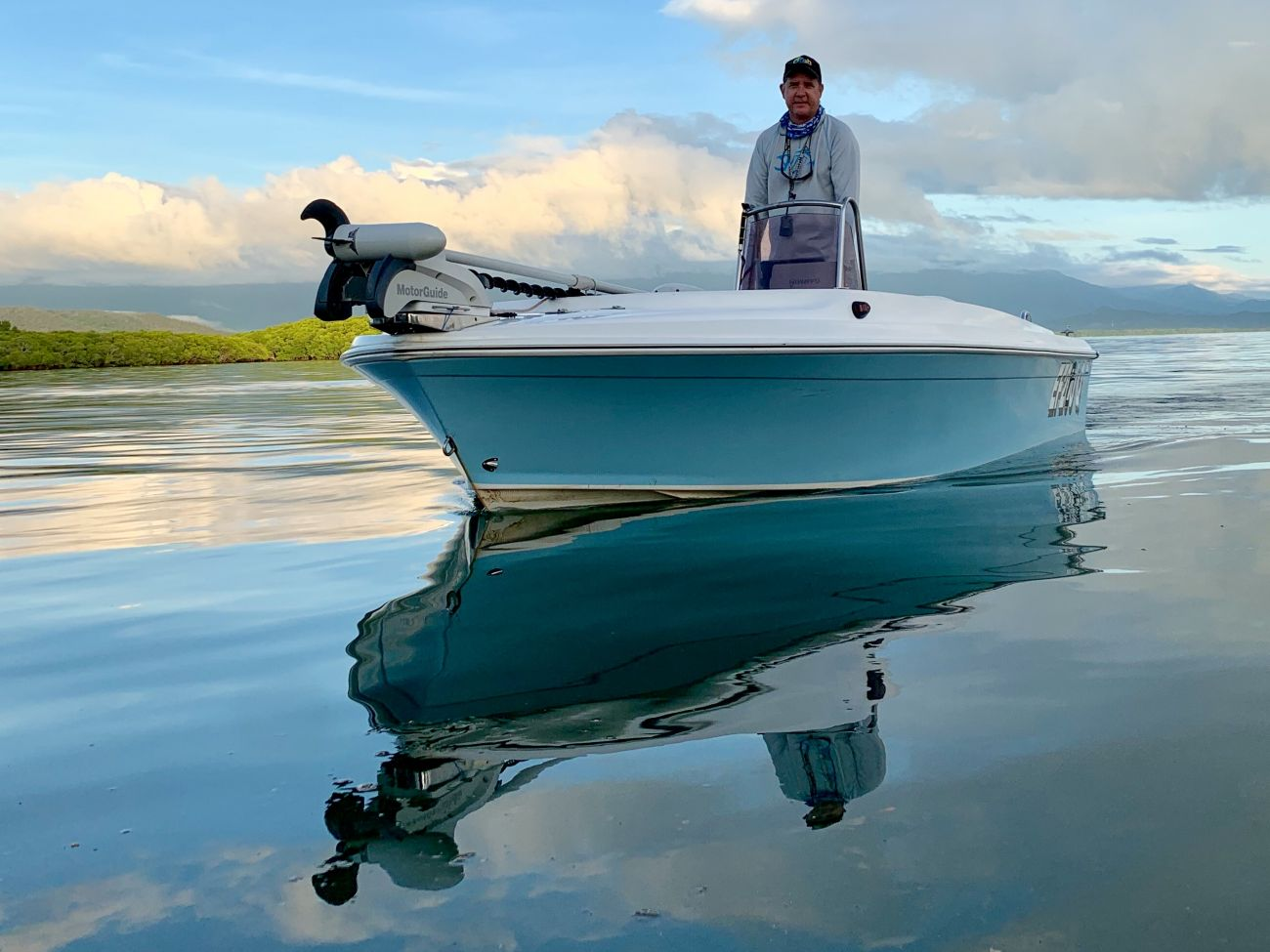 Recreational fisher in boat - image credit GBRMPA - Phil Laycock