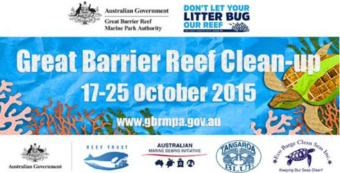 Great Barrier Reef Clean-up 17-25 October 2015