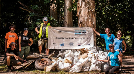 Cape Kimberley Great Barrier Reef Clean-up 2015