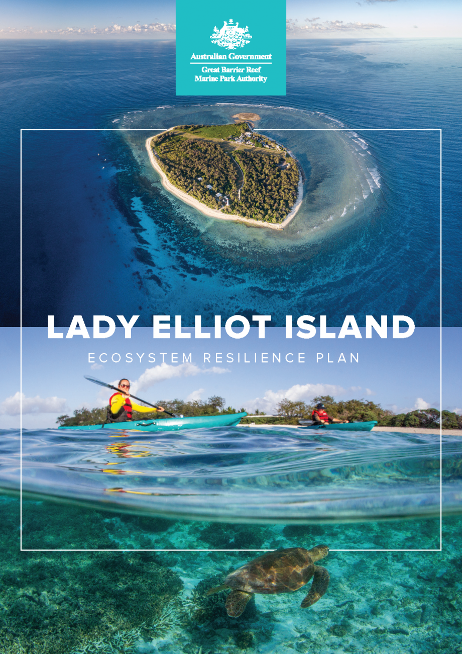 Lady Elliot Island Ecosystem Resilience Plan cover page