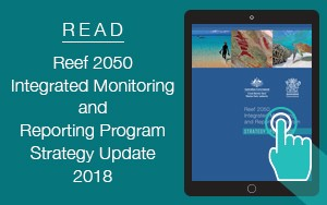 Reef 2050 Integrated Monitoring and Reporting Program Strategy flip book icon