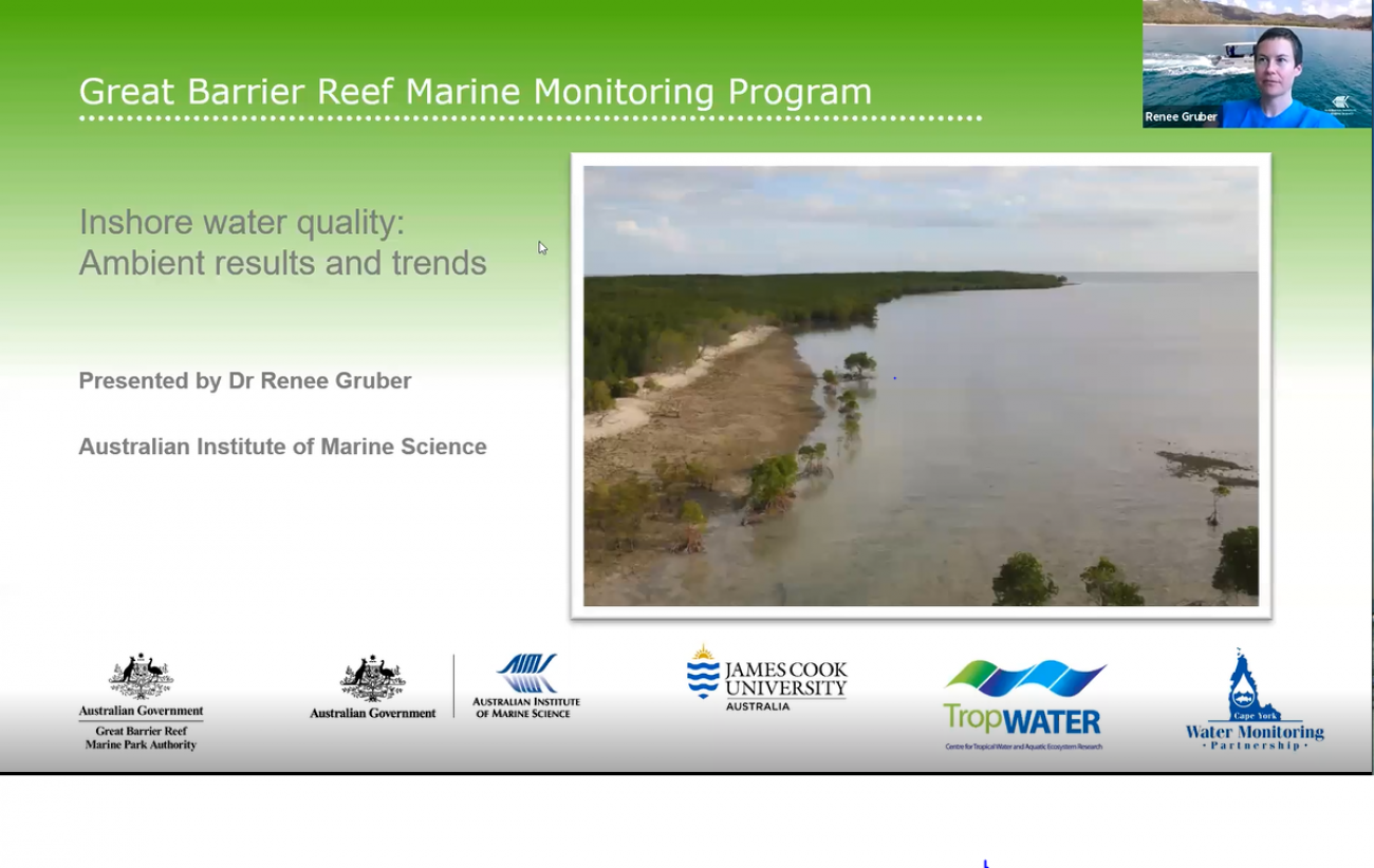 Inshore water quality - ambient results and trends