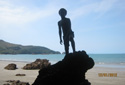My son at Cape Hillsborough National Park by Charmaine Miller of Mackay