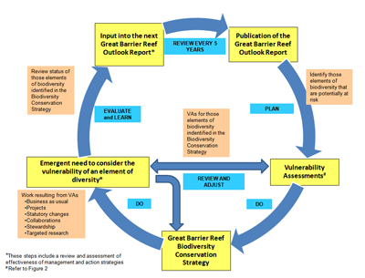 Figure 1 The Biodiversity Conservation Strategy flow diagram