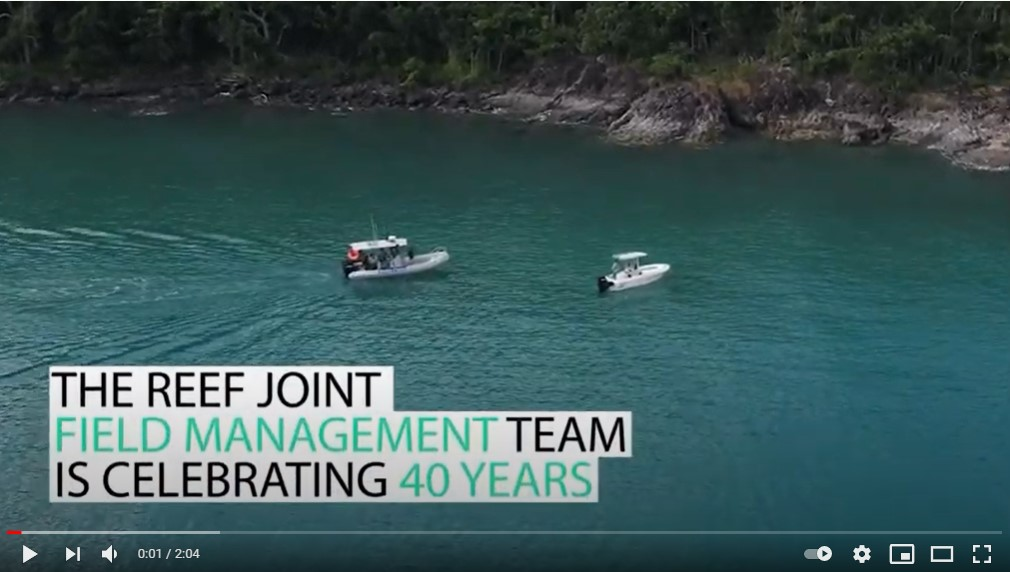 40 years of protecting the Great Barrier Reef